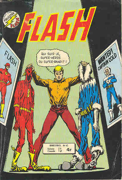 Couverture de Flash (Arédit - Pop Magazine/Cosmos/Flash) -43- Flash 43