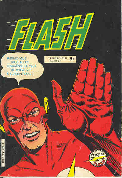Couverture de Flash (Arédit - Pop Magazine/Cosmos/Flash) -54- Flash 54