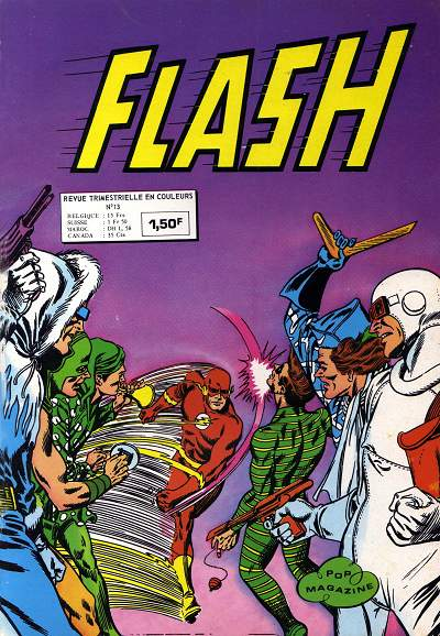 Couverture de Flash (Arédit - Pop Magazine/Cosmos/Flash) -13- Le gang des super-scélérats