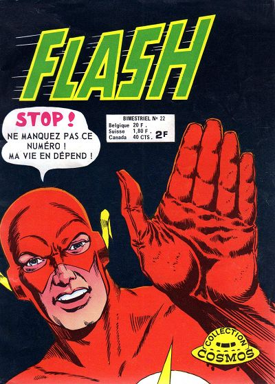 Couverture de Flash (Arédit - Pop Magazine/Cosmos/Flash) -22- Un nuage super-rapide