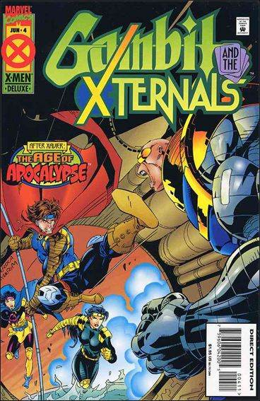 Couverture de Gambit and the X-Ternals -4- The maze