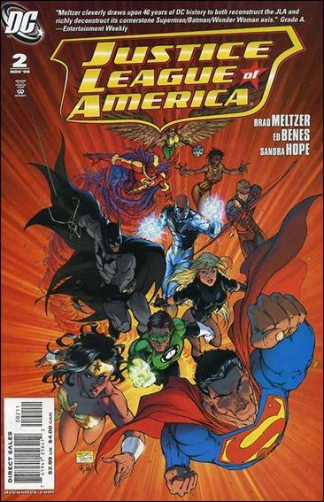 Couverture de Justice League of America (2006) -2- The Tornado's path, part two: Tornado-red/ Tornado-blue