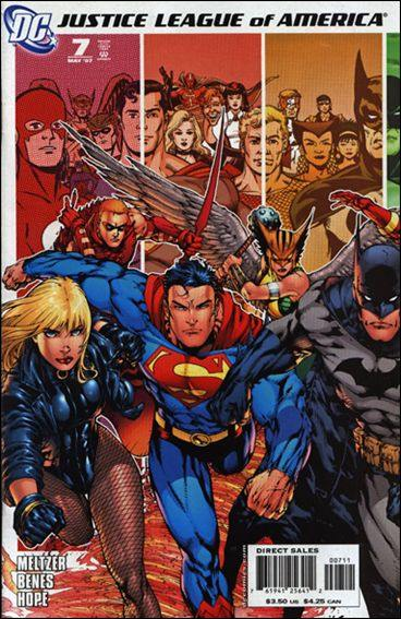 Couverture de Justice League of America (2006) -7- The Tornado's path, epilogue - roll call