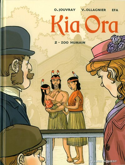 Couverture de Kia Ora -2- Zoo humain