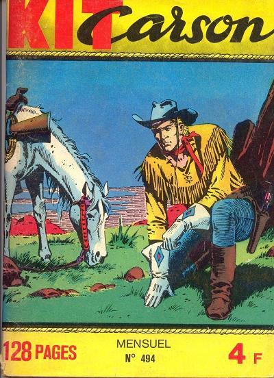 Bande dessinée Kit Carson