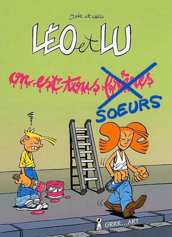 Léo et Lu 3 tomes