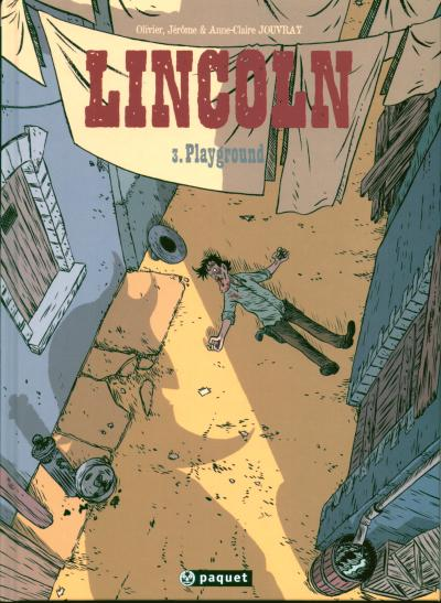 Couverture de Lincoln -3- Playground
