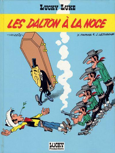 Couverture de Lucky Luke -62- Les Dalton à la noce