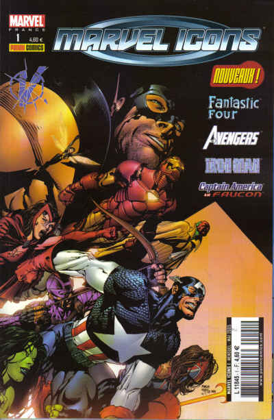 Couverture de Marvel Icons (Marvel France 1re série) -1- La méthode forte