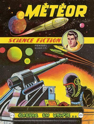 Couverture de Météor (1re Série - Artima) -10- Guerre en utopie