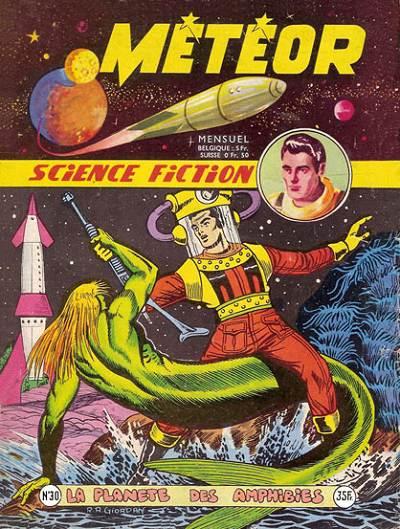 Couverture de Météor (1re Série - Artima) -30- La planète des amphibies
