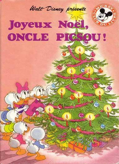 Mickey club du livre 117 joyeux no l oncle picsou - Joyeux noel disney ...