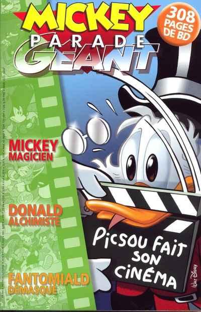 Couverture de Mickey Parade -307- Picsou fait son cinéma