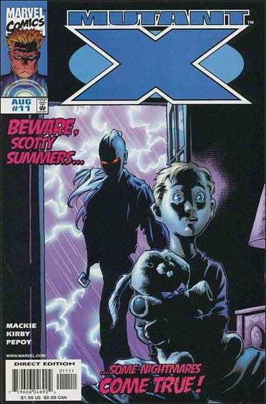 Couverture de Mutant X -11- And a child shall lead them