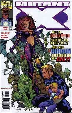 Couverture de Mutant X -4- Secrets and lies