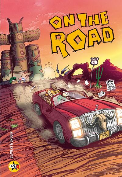 Couverture de On the road