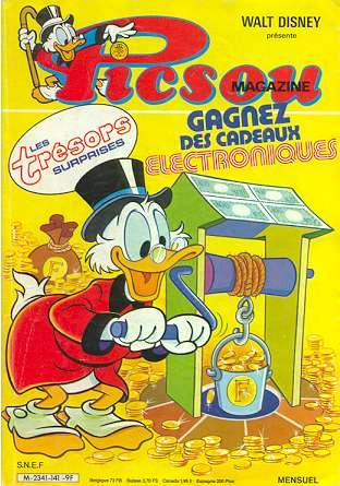 Couverture de Picsou Magazine -141- Picsou Magazine N°141