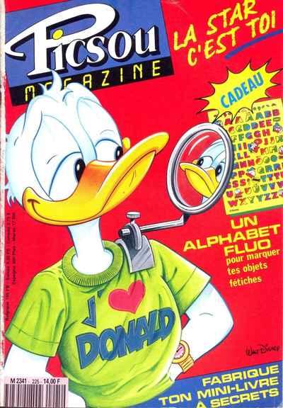 Couverture de Picsou Magazine -225- Picsou Magazine N°225
