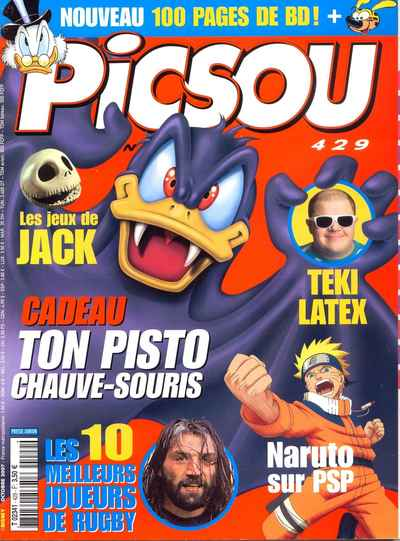 Couverture de Picsou Magazine -429- Picsou Magazine N°429