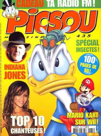Couverture de Picsou Magazine -435- Picsou Magazine N°435