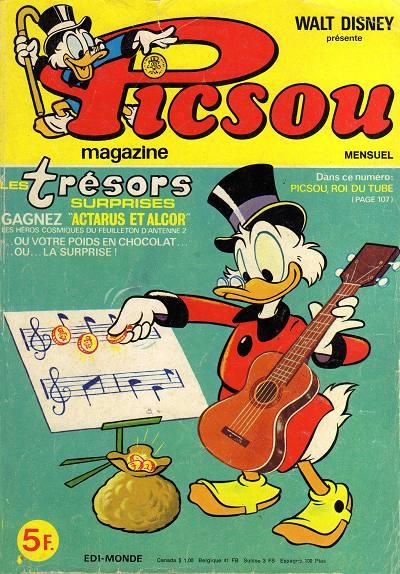 Couverture de Picsou Magazine -81- Picsou Magazine N°81