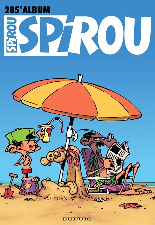 Couverture de (Recueil) Spirou (Album du journal) -285- Spirou album du journal