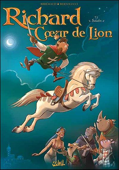Richard c ur de lion soleil 2 saladin - Armoiries richard coeur de lion ...
