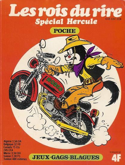 Couverture de Les rois du rire -HS- Hercule et la moto