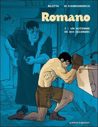 Couverture de Romano -1- Un automne de dix secondes