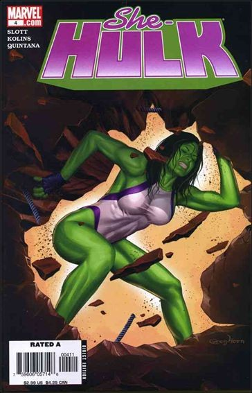 Couverture de She-Hulk (2005) -4- Back to bone