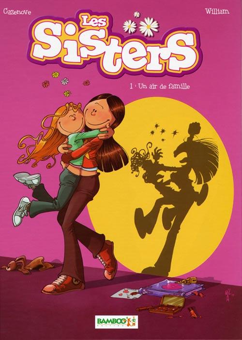 Couverture de Les sisters -1- Un air de famille
