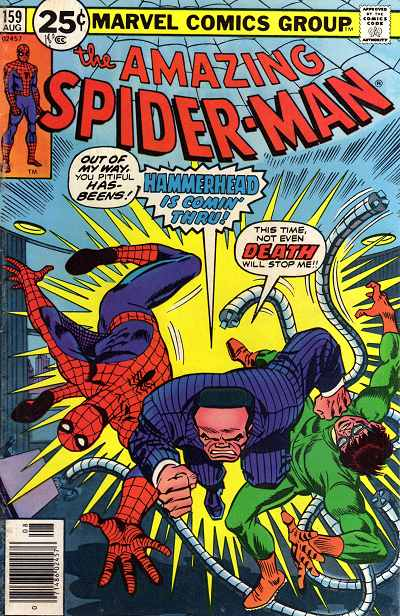 Couverture de Amazing Spider-Man (The) (1963) -159- Arm in arm in arm in arm in arm in arm with Doctor Octopus