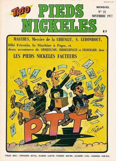 Couverture de Trio - Les Pieds Nickelés Magazine -21- N°21