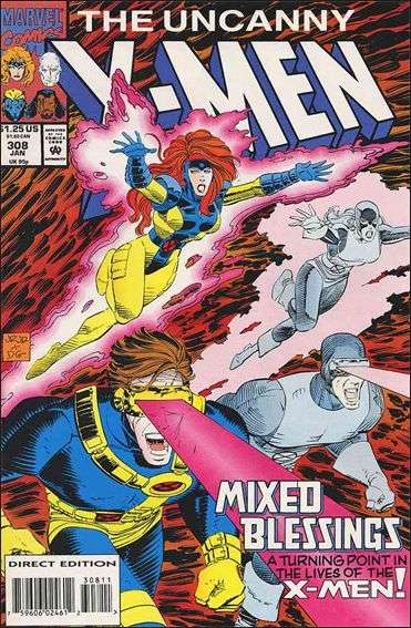 Couverture de Uncanny X-Men (The) (1963) -308- Mixed blessings