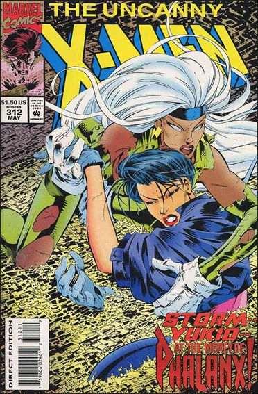 Couverture de Uncanny X-Men (The) (1963) -312- Romp