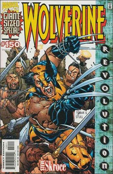 Couverture de Wolverine (1988) -150- Blood debt part 1