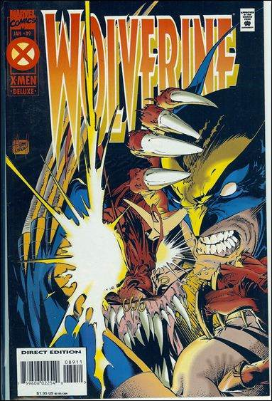 Couverture de Wolverine (1988) -89- The mask of Ogun