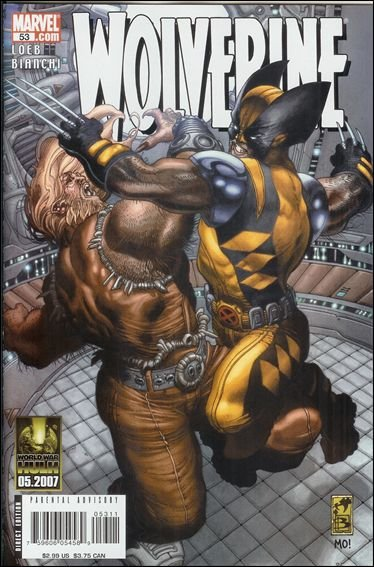 Couverture de Wolverine (2003) -53- Evolution part 4 : insomnia