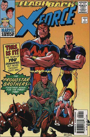Couverture de X-Force (1991) -0-1- Stand-off