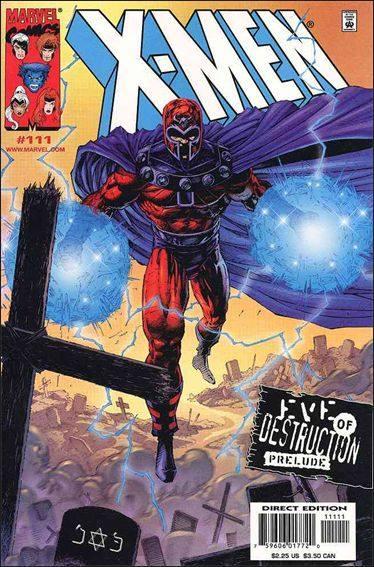 Couverture de X-Men (1991) -111- Prelude to destruction