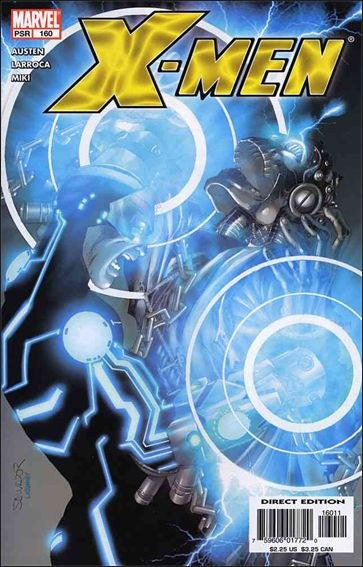Couverture de X-Men (1991) -160- Day of the atom part 4 : forces of nature