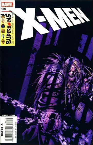 Couverture de X-Men (1991) -189- Supernovas part 2