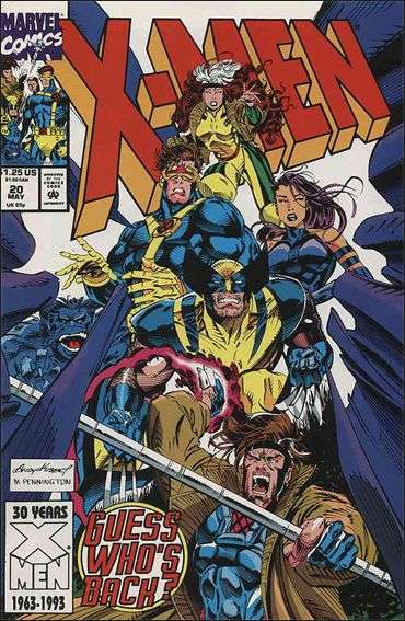 Couverture de X-Men (1991) -20- Digging in the dirt