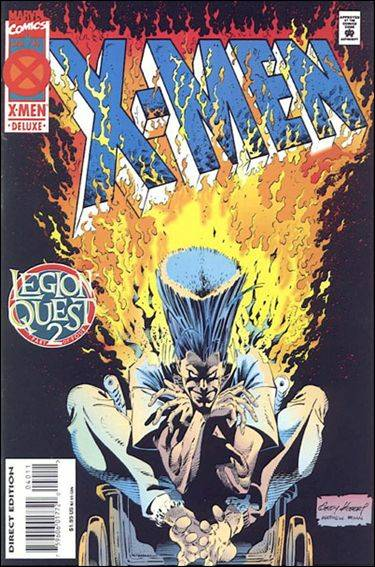 Couverture de X-Men (1991) -40- Legion quest part 2 : the killing time