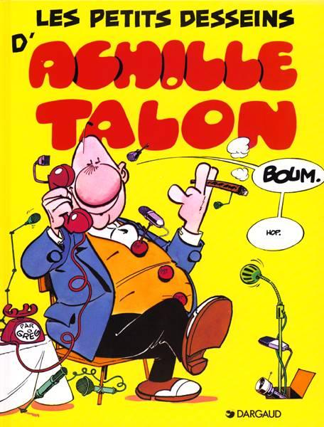 Couverture de Achille Talon -9- Les petits desseins d'Achille Talon