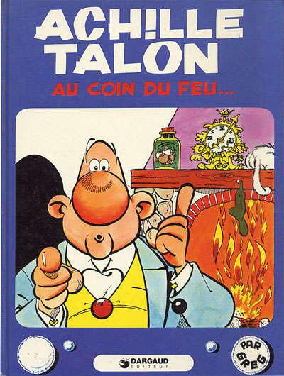 Couverture de Achille Talon -12- Achille Talon au coin du feu...