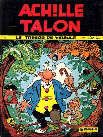 Couverture de Achille Talon -16- Achille Talon et le trésor de Virgule