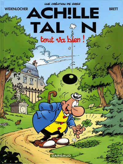 Couverture de Achille Talon -44- Tout va bien !