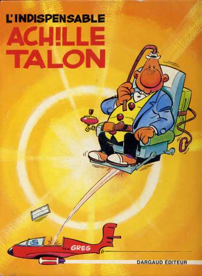 Couverture de Achille Talon -5- L'indispensable Achille Talon