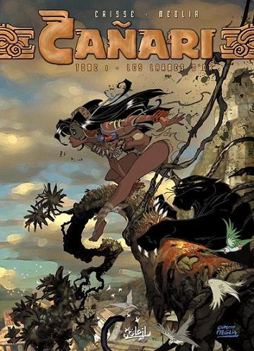 Couverture de Cañari -1- Les Larmes d'Or